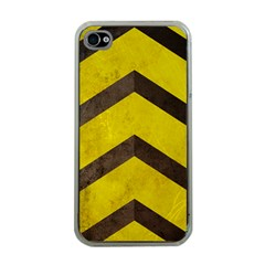 Caution Apple Iphone 4 Case (clear) by Contest1775858
