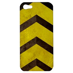 Caution Apple Iphone 5 Hardshell Case by Contest1775858