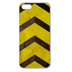 Caution Apple Seamless Iphone 5 Case (clear) by Contest1775858