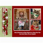 xmascard13 - 5  x 7  Photo Cards