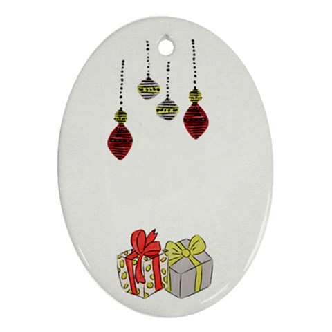 Ornament By Deca   Ornament (oval)   K5aiuilivwzb   Www Artscow Com Front