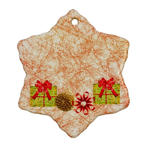 Ornament By Deca   Ornament (snowflake)   N0cskdtx0dxt   Www Artscow Com Front