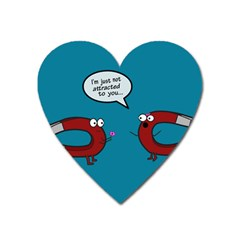 Notattracted Magnet (Heart) by PaolAllen2