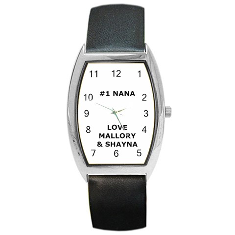 Nana Watch By Jessica   Barrel Style Metal Watch   Dxbnmvfno2mv   Www Artscow Com Front
