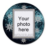 Winter Wonderland Round Mousepad
