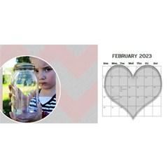 11x5 Chevron 2015 By Amanda Bunn   Desktop Calendar 11  X 5    A4bm8csrjq36   Www Artscow Com Feb 2015