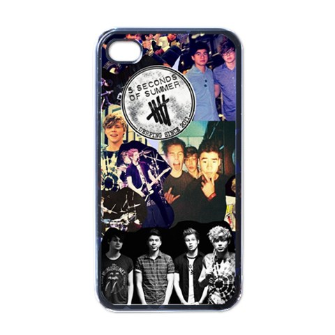 I4 By Tina Coleman   Apple Iphone 4 Case (black)   0p51dn1pisrc   Www Artscow Com Front