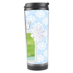 Snow By Joely   Travel Tumbler   Qq14olj9omuk   Www Artscow Com Right