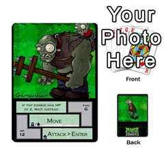 Plants Vs  Zombies 2 By Ajax   Playing Cards 54 Designs   F77j9hfuf3r7   Www Artscow Com Front - Heart6
