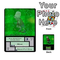 Plants Vs  Zombies 2 By Ajax   Playing Cards 54 Designs   F77j9hfuf3r7   Www Artscow Com Front - Heart7