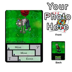 Plants Vs  Zombies 2 By Ajax   Playing Cards 54 Designs   F77j9hfuf3r7   Www Artscow Com Front - Spade4