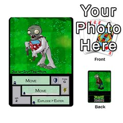 Plants Vs  Zombies 2 By Ajax   Playing Cards 54 Designs   F77j9hfuf3r7   Www Artscow Com Front - Heart9