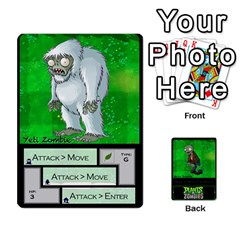 Plants Vs  Zombies 2 By Ajax   Playing Cards 54 Designs   F77j9hfuf3r7   Www Artscow Com Front - Diamond5