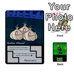 Plants Vs  Zombies 2 By Ajax   Playing Cards 54 Designs   F77j9hfuf3r7   Www Artscow Com Front - Diamond9