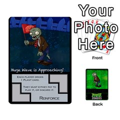 Jack Plants Vs  Zombies 2 By Ajax   Playing Cards 54 Designs   F77j9hfuf3r7   Www Artscow Com Front - DiamondJ