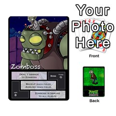 King Plants Vs  Zombies 2 By Ajax   Playing Cards 54 Designs   F77j9hfuf3r7   Www Artscow Com Front - DiamondK