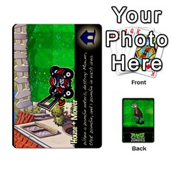 Plants Vs  Zombies 2 By Ajax   Playing Cards 54 Designs   F77j9hfuf3r7   Www Artscow Com Front - Club5