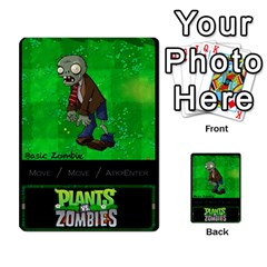 Plants Vs  Zombies 2 By Ajax   Playing Cards 54 Designs   F77j9hfuf3r7   Www Artscow Com Back