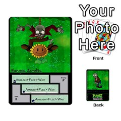 Plants Vs  Zombies 2 By Ajax   Playing Cards 54 Designs   F77j9hfuf3r7   Www Artscow Com Front - Spade9