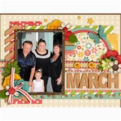 2014 Family Calendar By Sweetheaven   Wall Calendar 11  X 8 5  (12 Months)   Cc5f3v018zba   Www Artscow Com Month