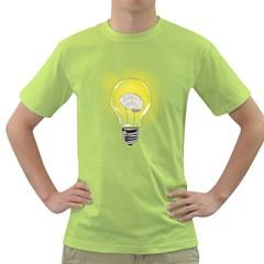 Good Idea! Mens  T Shirt (green) by Contest1753604