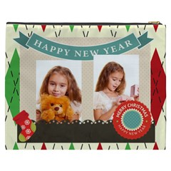 Merry Christmas By Joely   Cosmetic Bag (xxxl)   Vqt0v0fu0x2p   Www Artscow Com Back