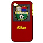 Ethan s phone cover - Apple iPhone 4/4S Hardshell Case (PC+Silicone)