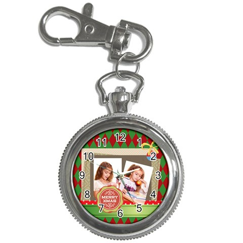 Xmas By Joely   Key Chain Watch   8lb742xjoduf   Www Artscow Com Front