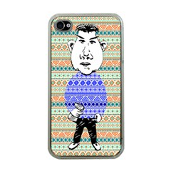 The Cheeky Buddies Apple Iphone 4 Case (clear) by doodlelabel