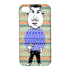 The Cheeky Buddies Apple Iphone 4/4s Hardshell Case With Stand by doodlelabel