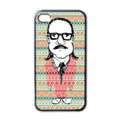 The Cheeky Buddies Apple Iphone 4 Case (black) by doodlelabel
