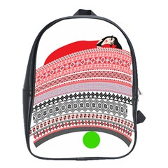 The Princess And The Pea School Bag (xl) by doodlelabel