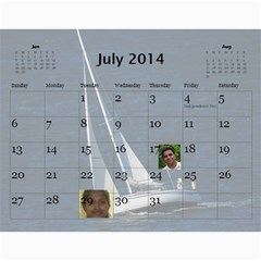 2014 Calender By Kezia Finny   Wall Calendar 11  X 8 5  (12 Months)   Zll1hgvf58vv   Www Artscow Com Jul 2014