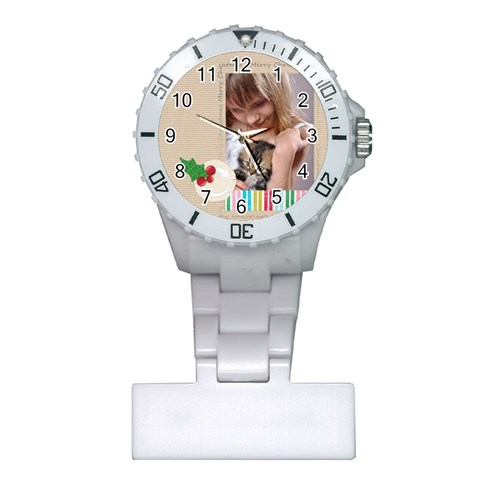 Xmas By Joely   Plastic Nurses Watch   K6977mk3b09y   Www Artscow Com Front