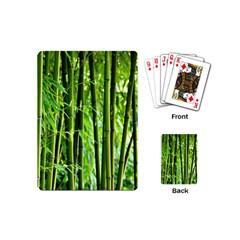 Bamboo Playing Cards (mini) by Siebenhuehner