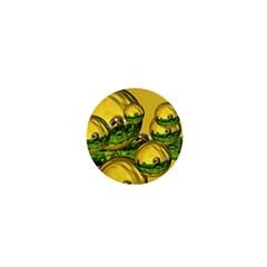Balls 1  Mini Button Magnet by Siebenhuehner