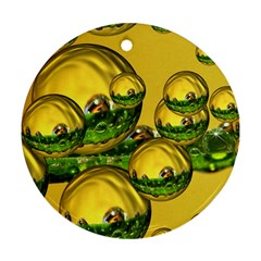 Balls Round Ornament by Siebenhuehner
