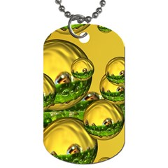 Balls Dog Tag (one Sided) by Siebenhuehner