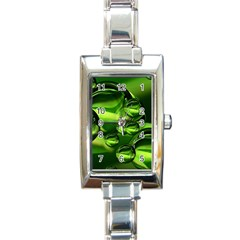 Balls Rectangular Italian Charm Watch by Siebenhuehner
