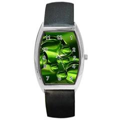 Balls Tonneau Leather Watch