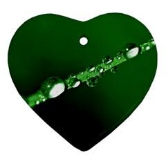 Drops Heart Ornament by Siebenhuehner