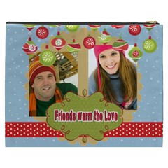 Merry Christmas By Merry Christmas   Cosmetic Bag (xxxl)   Ya5ccbxtb34r   Www Artscow Com Back