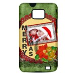 merry christmas - Samsung Galaxy S II i9100 Hardshell Case (PC+Silicone)