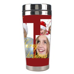 Merry Christmas By M Jan   Stainless Steel Travel Tumbler   4wmvgv5r9vxj   Www Artscow Com Center