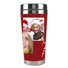 Merry Christmas By M Jan   Stainless Steel Travel Tumbler   4wmvgv5r9vxj   Www Artscow Com Right
