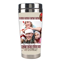 Merry Christmas By M Jan   Stainless Steel Travel Tumbler   1m5yx9qwsgdo   Www Artscow Com Center
