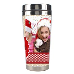 Merry Christmas By M Jan   Stainless Steel Travel Tumbler   Df947idfq32j   Www Artscow Com Center