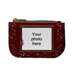 Red Sparkle Mini Coin Purse
