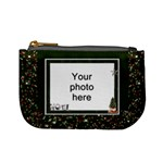 Green Sparkle Mini Coin Purse