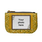 Yellow Sparkle Mini Coin Purse